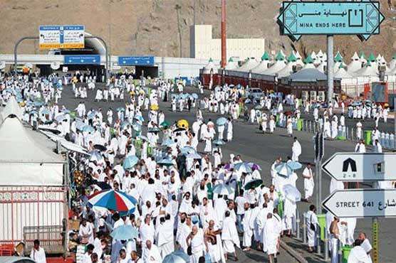Hajj pilgrims to perform Waqoof-e-Arafat today