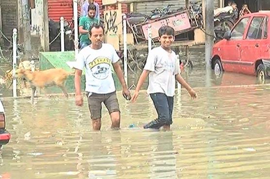 Nine die as torrential monsoon rain wreaks havoc in Karachi