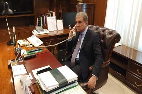 FM Qureshi telephones South African counterpart to apprise IoK situation
