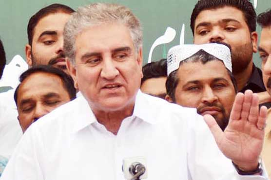 Indian unilateral action on occupied Kashmir puts regional peace at stake: FM Qureshi