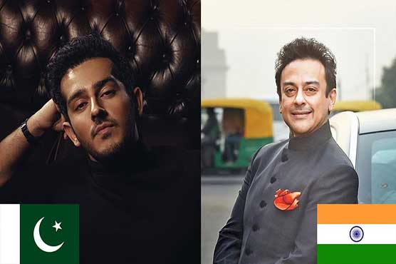 Image result for azaan sami khan with father