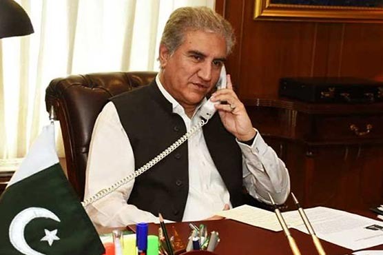 FM Qureshi telephones Swiss counterpart, discusses Kashmir dispute