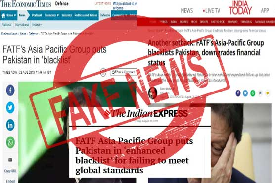 Finance Ministry rejects Indian media reports of APG blacklisting Pakistan