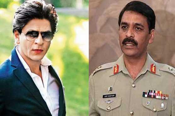 شاہ رخ خان! تم بالی ووڈ کے ناسور میں ہی رہو، ڈی جی آئی ایس پی آر