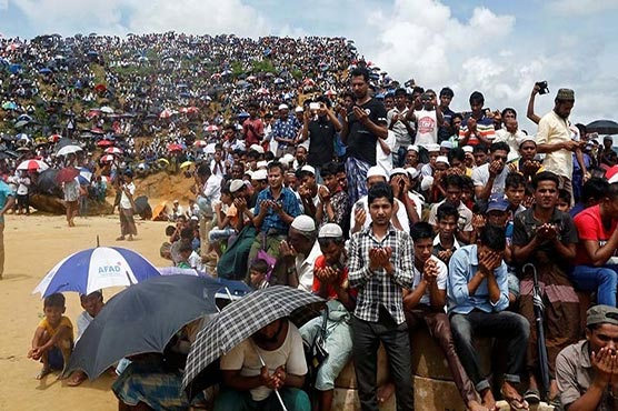 200,000 Rohingya rally to mark 'Genocide Day' in Bangladesh camps
