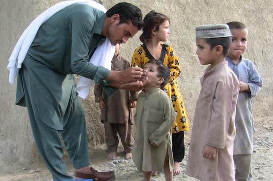 Three-day anti-polio campaign to begin in KP on Monday