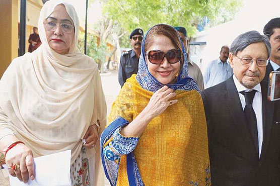 Talpur seeks IHC's orders for implementation on her production order