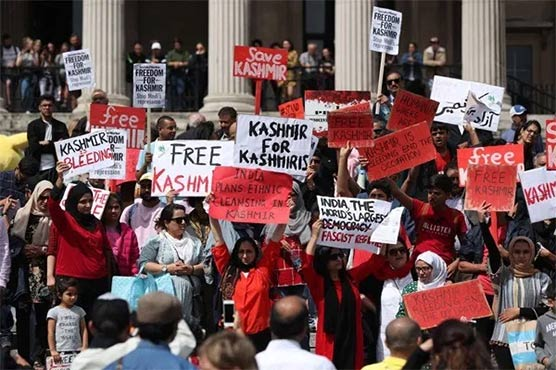 Birmingham residents show solidarity by holding 'Free Kashmir' march