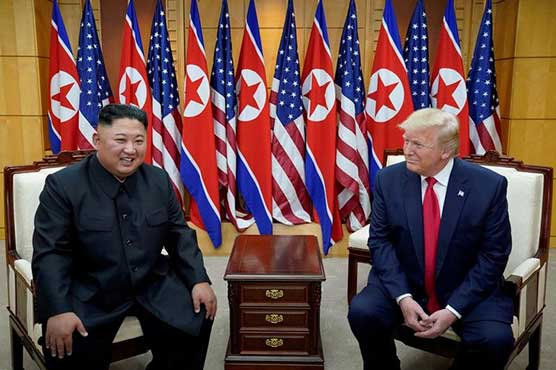 Trump says North Korea's Kim 'likes sending rockets up'