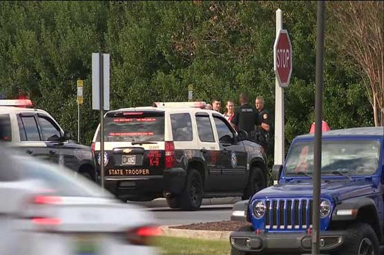 Two killed, shooter dead at US navy base attack