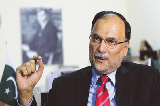 Minus one agenda erupting from within PTI not opposition: Ahsan Iqbal
