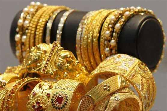 Gold price drops by Rs750 per tola