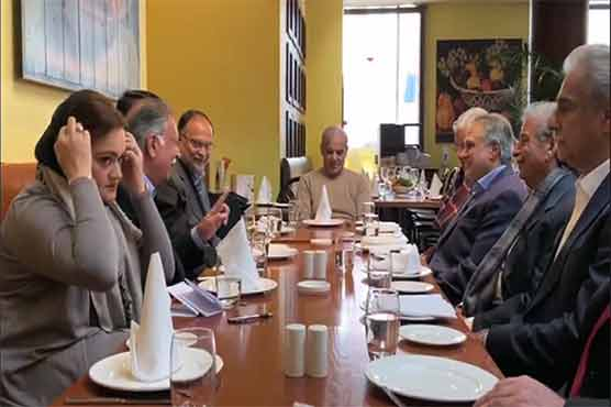 Senior PML-N leaders hold important meeting in London