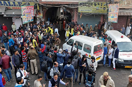At least 43 killed in Delhi factory fire