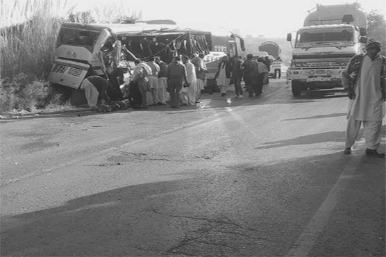 4 die, 10 critically injure in deadly accident on Chakwal Road