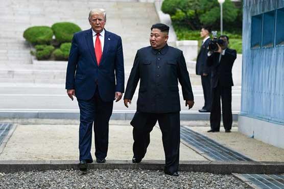 Trump warns Kim has 'everything' to lose through hostility