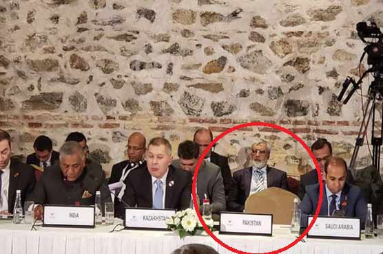 FM Qureshi boycotts Indian minister's speech at Heart of Asia conference