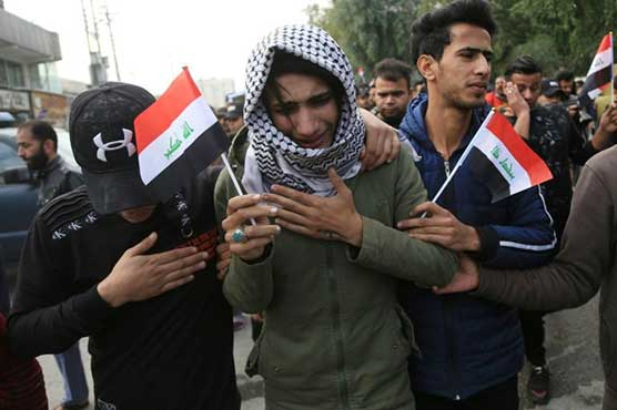 Iraqis rally against government as Baghdad summons Western envoys