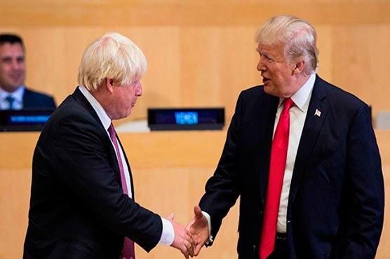 Trump congratulates UK's Boris Johnson on 'great' election win