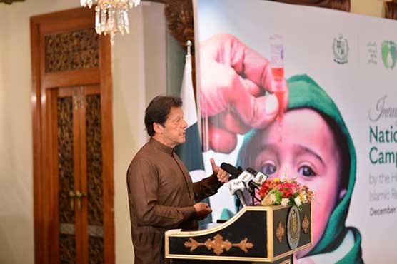 PM Imran kicks off national anti-polio drive