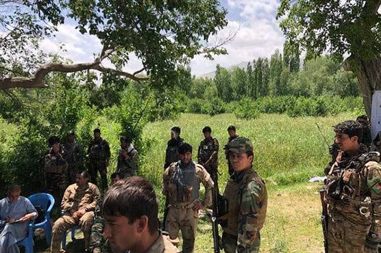 Nine Afghan forces killed in Taliban insider attack