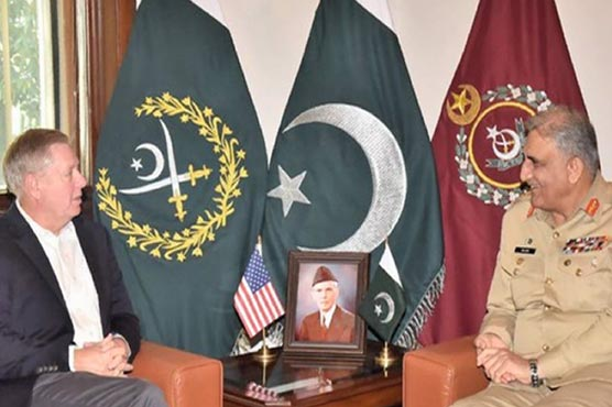 US Senator Graham, COAS deliberate on regional security
