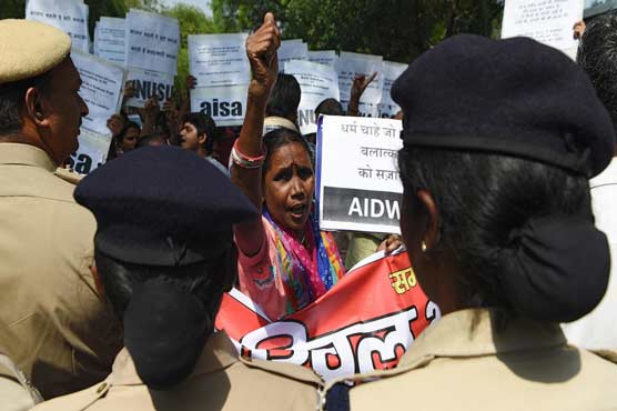 Indian court convicts former ruling lawmaker of teen rape