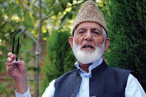 135th day of curfew: Resistance till last Indian soldier quits IoK, says Syed Ali Gilani