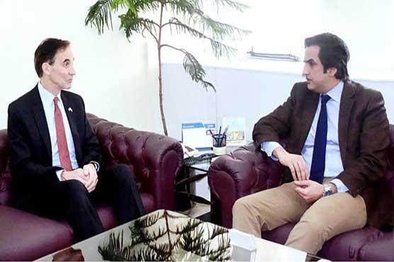 US Ambassador calls on Food Security minister Khusro-Bakhtiar