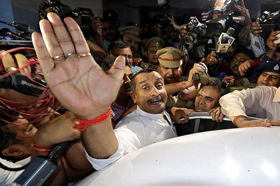 Indian lawmaker gets life for raping teen in landmark case