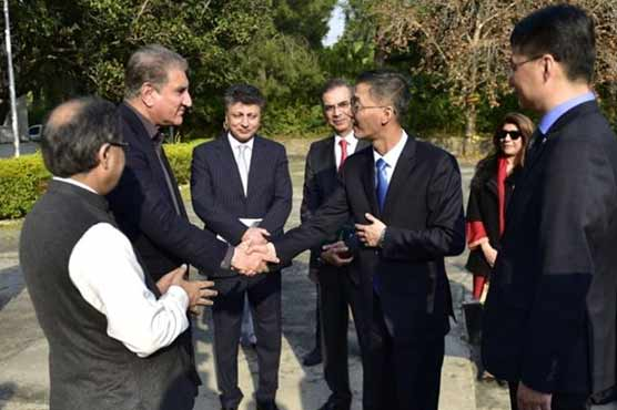 China gifts old embassy building to Pakistan