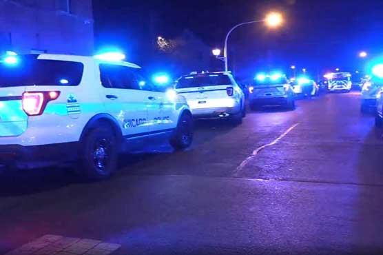 Thirteen people shot at Chicago party