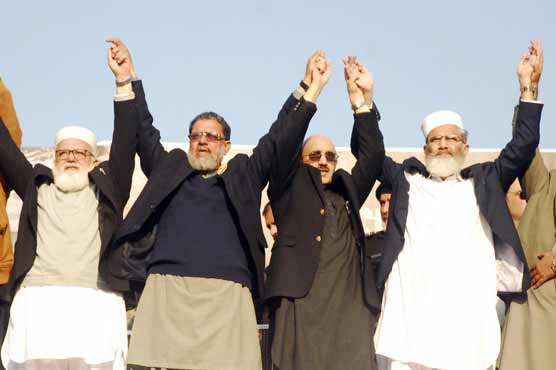 No power on earth can separate Pakistanis from Kashmir: Sirajul Haq