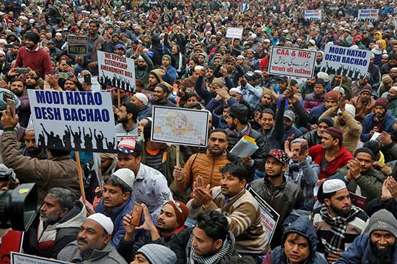 India shut down internet, deploy forces to suppress protests against citizenship law