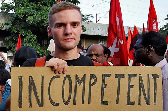 India expels German student for reminding it of Germany's past during protest