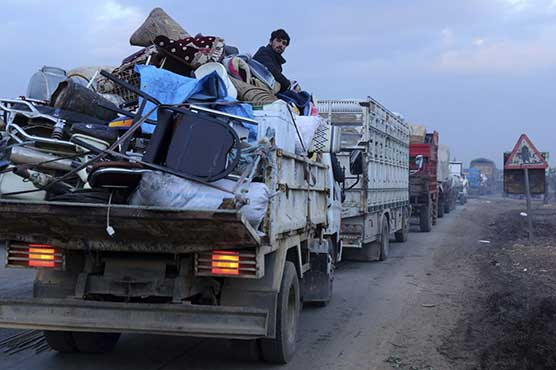 Relief group: 216,000 have fled homes in northwest Syria