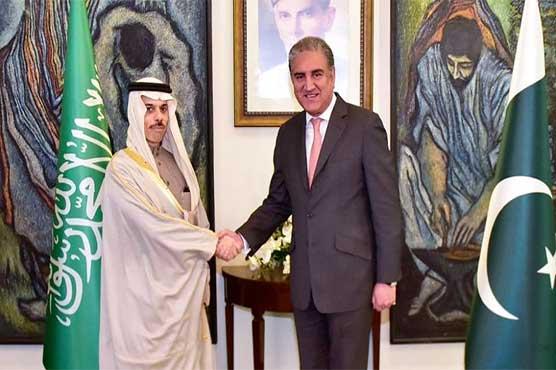 FM Qureshi, Saudi counterpart discuss bilateral ties, regional developments