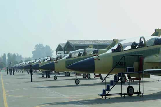 First batch of dual seat JF-17 aircraft rolled out