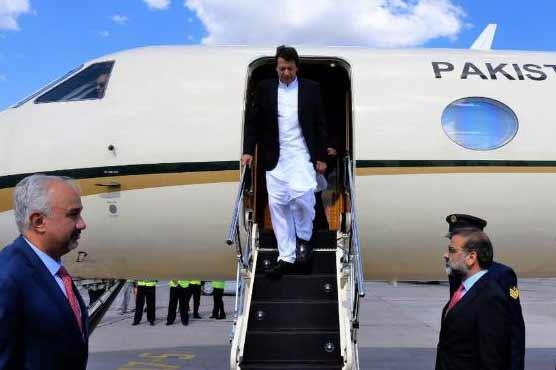 Plane carrying PM Imran redirected towards Peshawar due to bad weather