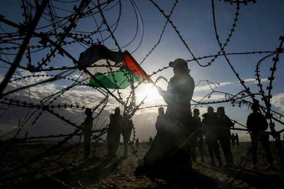 Hundreds join final Gaza-Israel border protests for three months