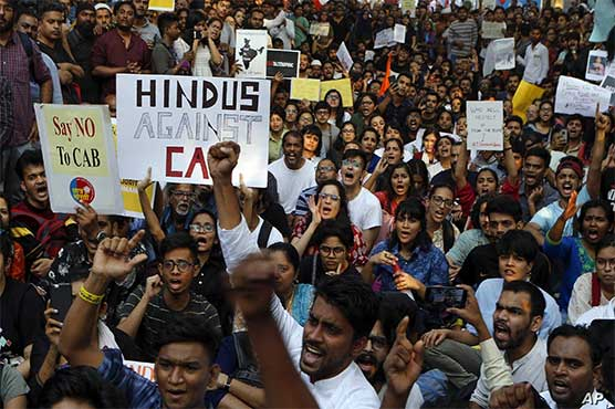 India protests term Anti-Muslim law 'stepping stone to Holocaust'