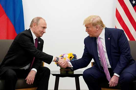 Trump, Putin discussed Russia attack, arms control, relations