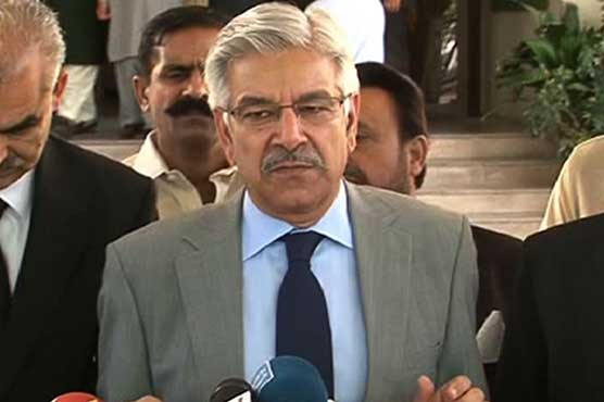 Kh Asif rules out negotiation with govt to seek 'concession' for Nawaz Sharif