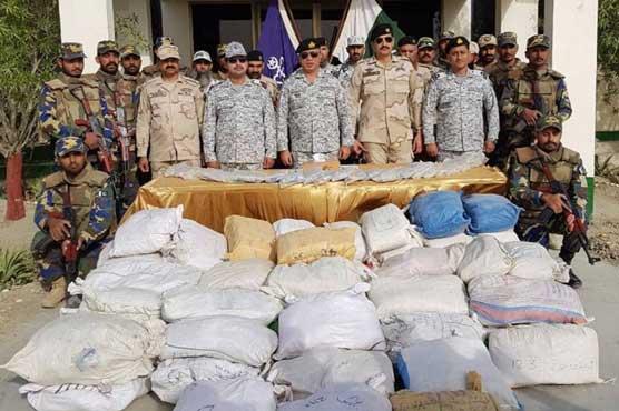 Pakistan Navy seize hashish worth $30m near Pasni