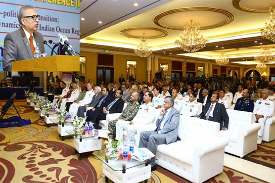 Aman-19 signifies Pakistan's commitment towards global peace: President Alvi