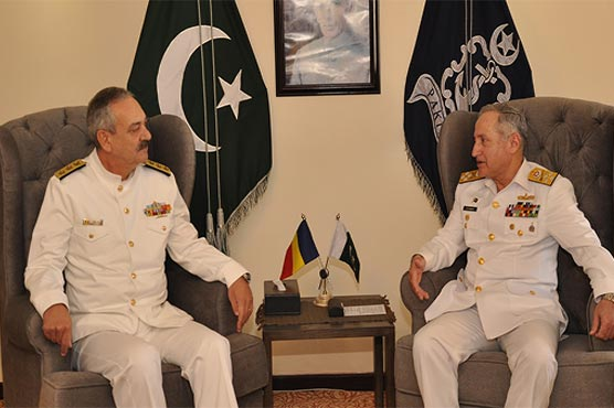 AMAN 2019: Chief Of Naval Staff meets various foreign military delegates