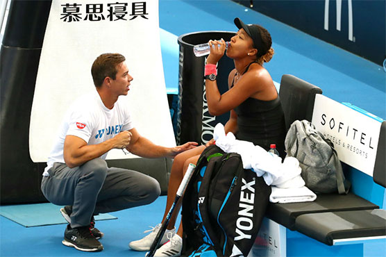 Naomi Osaka has split from her coach Sascha Bajin just weeks after winning the Australian Open