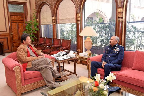 Chief of Air Staff calls on PM Imran Khan
