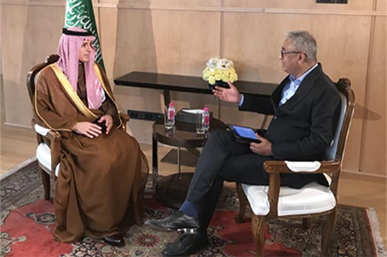 Saudi FM lauds Pakistan's anti-terror efforts during India visit