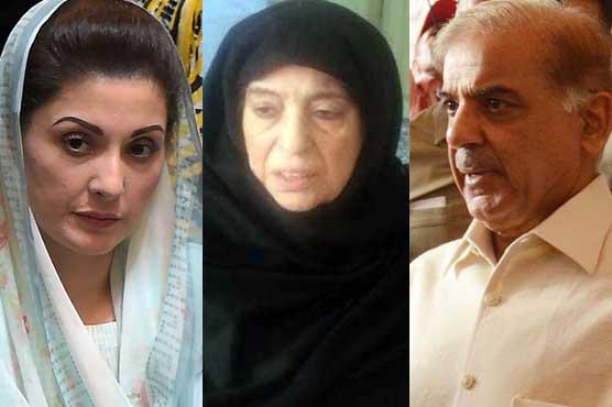 Sharif family pays visit to Nawaz at Jinnah hospital